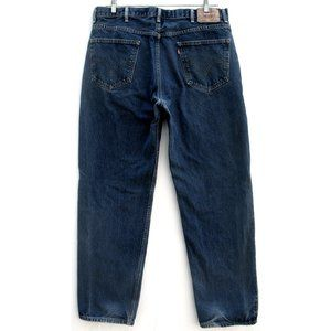 Levi's 550 - Relaxed Fit - Dark Wash - Sz 40